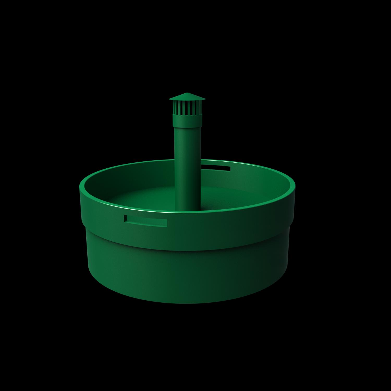 Крышка- клумба для септиков Fintek и Аэро